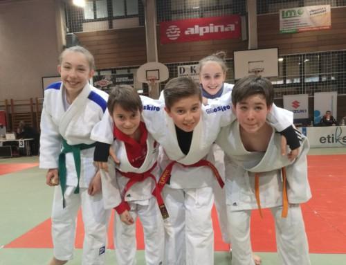 Pokal Zirov in Slovenia: tre argenti per il Judo Kuroki