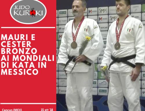Bronzo mondiale per Davide Mauri e Massimo Cester