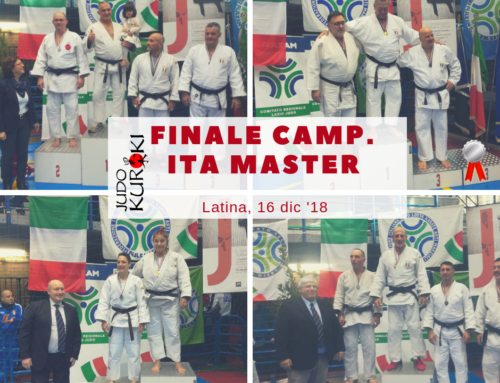 Il Kuroki a Latina nei Master: quattro medaglie