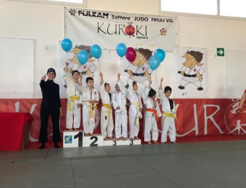 A Tarcento vincono i giovanissimi del Judo Kuroki