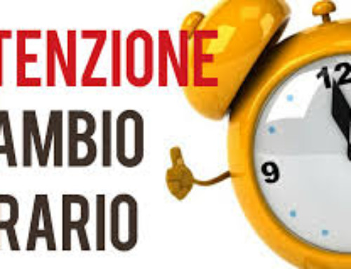 EJU CUP 2019 – Cambio orario – Time change