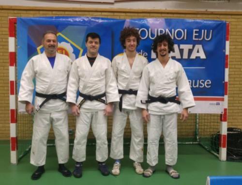 Il Kuroki agli Europei di Kata
